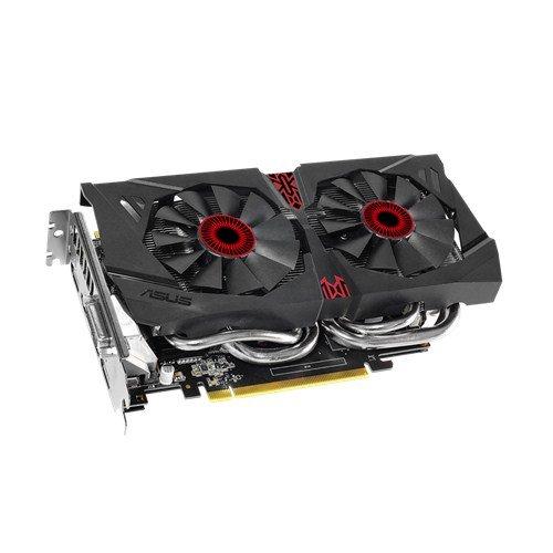 Asus 90YV07N0-M0NA00 GTX960 NVIDIA GeForce Grafikkarte (PCI-e, 2GB GDDR5 Speicher, DVI, DP, HDMI, 1 GPU)