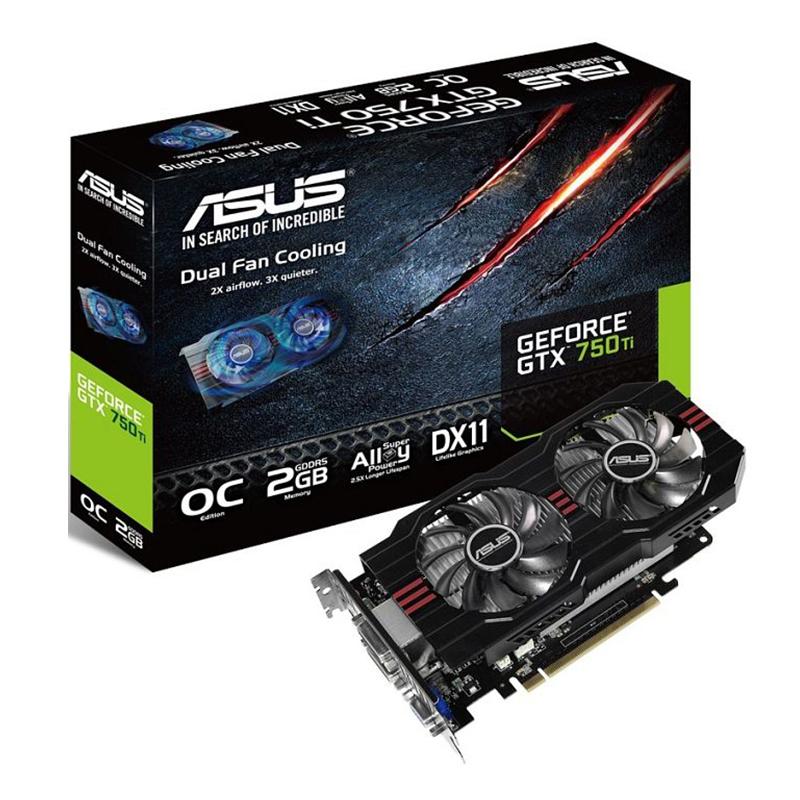 Asus GeForce GTX 750 Ti OC (2GB GDDR5) - Beitragsbild #1