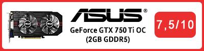 Asus GeForce GTX 750 Ti OC (2GB GDDR5): Grafikkarten Testbericht 2015