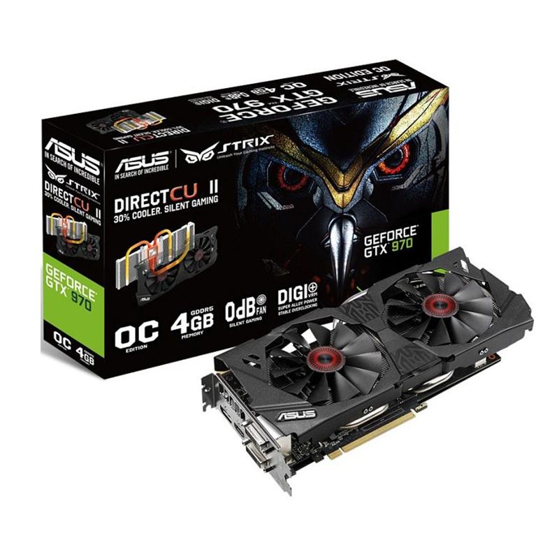 Asus GeForce GTX 970 Strix (4GB GDDR5) - Beitragsbild #1