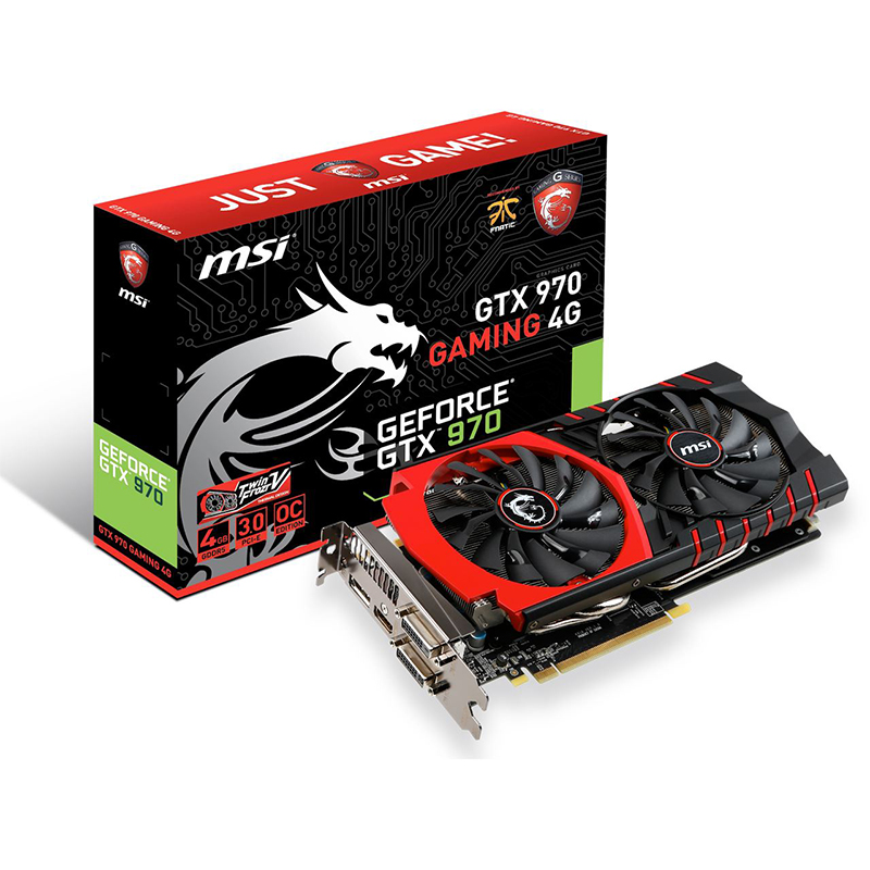 MSI GeForce GTX 970 Gaming 4G (4GB GDDR5) - Beitragsbild #1