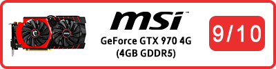 MSI GeForce GTX 970 Gaming 4G (4GB GDDR5): Grafikkarten Testbericht 2015