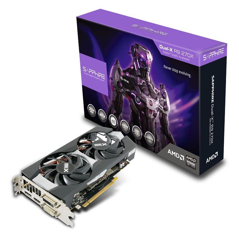 Sapphire Radeon R9 270X Dual-X OC (2GB GDDR5) - Beitragsbild #1