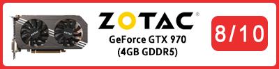 Zotac GeForce GTX 970 (4GB GDDR5): Grafikkarten Testbericht 2015