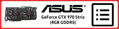 Asus GeForce GTX 970 Strix (4GB GDDR5): Grafikkarten Infobericht 2015