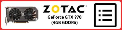 Zotac GeForce GTX 970 (4GB GDDR5): Grafikkarten Infobericht 2015