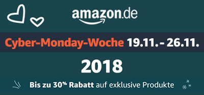 Amazon Cyber-Monday-Woche 2018